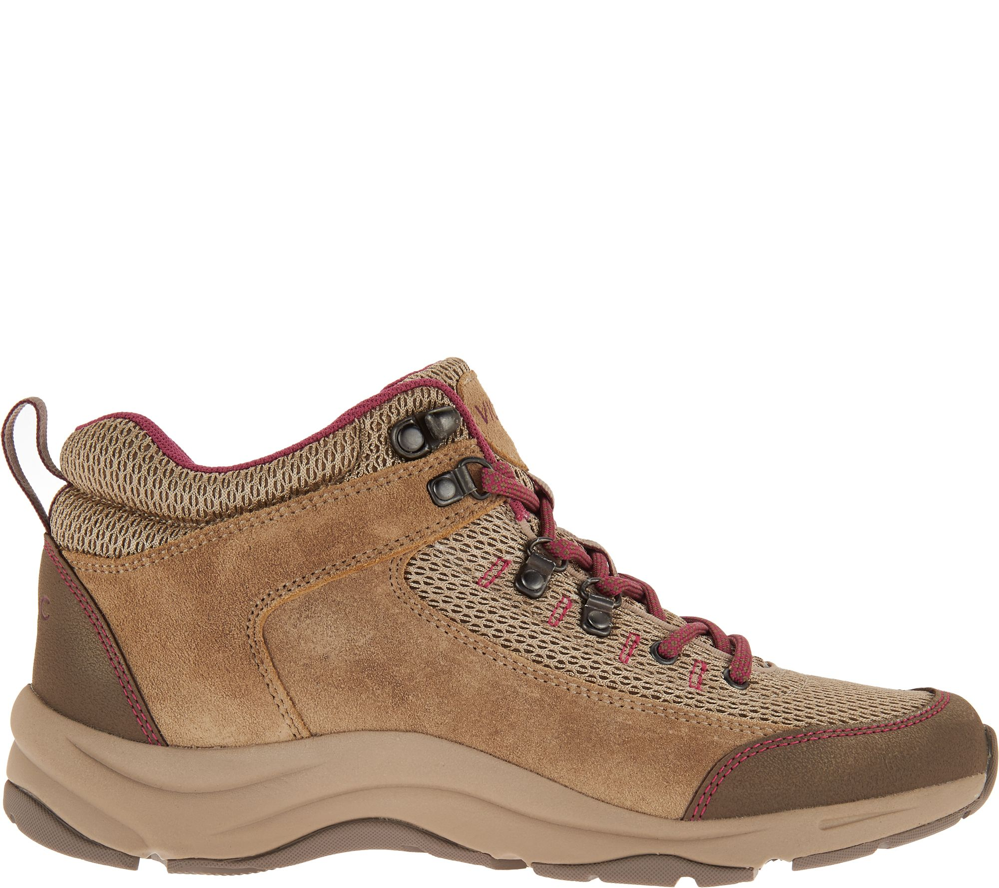 609e1faf82dce Vionic Water-Resistant Hiking Sneakers - Cypress — QVC.com