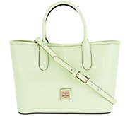 Dooney & Bourke Saffiano Leather Satchel Handbag -Brielle - A296310