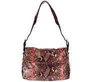 Aimee Kestenberg Vintage Leather Vertigo Shoulder Bag - A300310