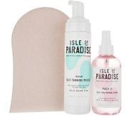 Isle of Paradise Tanning Mousse & PH Primer w/ Mitt - A311310