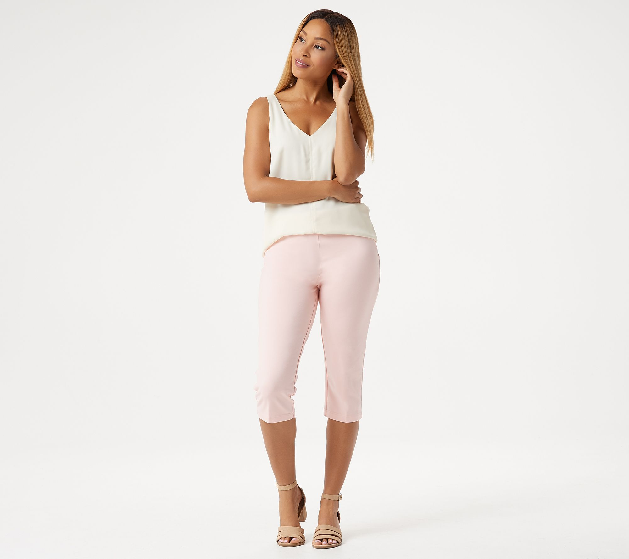 Just My Size Capri French Terry Womens Plus Your Choice 4 Colors /& sz 1x to 5x