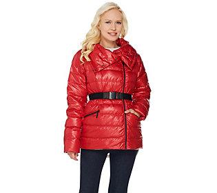G.I.L.I Belted Down Puffer Jacket