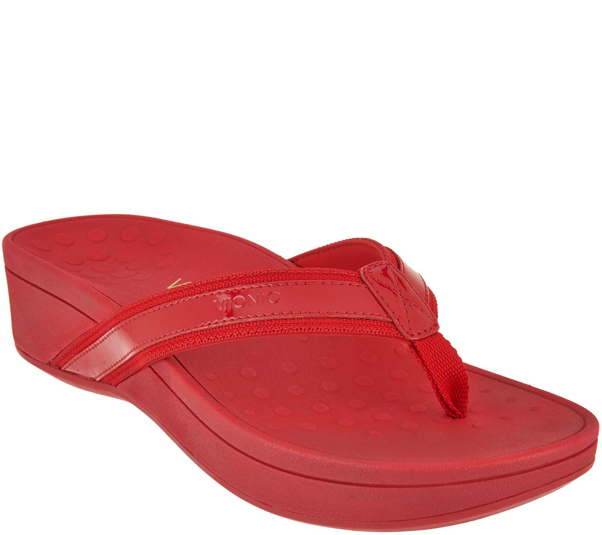 8390f8daba3 Vionic Platform Leather Sandals - High Tide - Page 1 — QVC.com