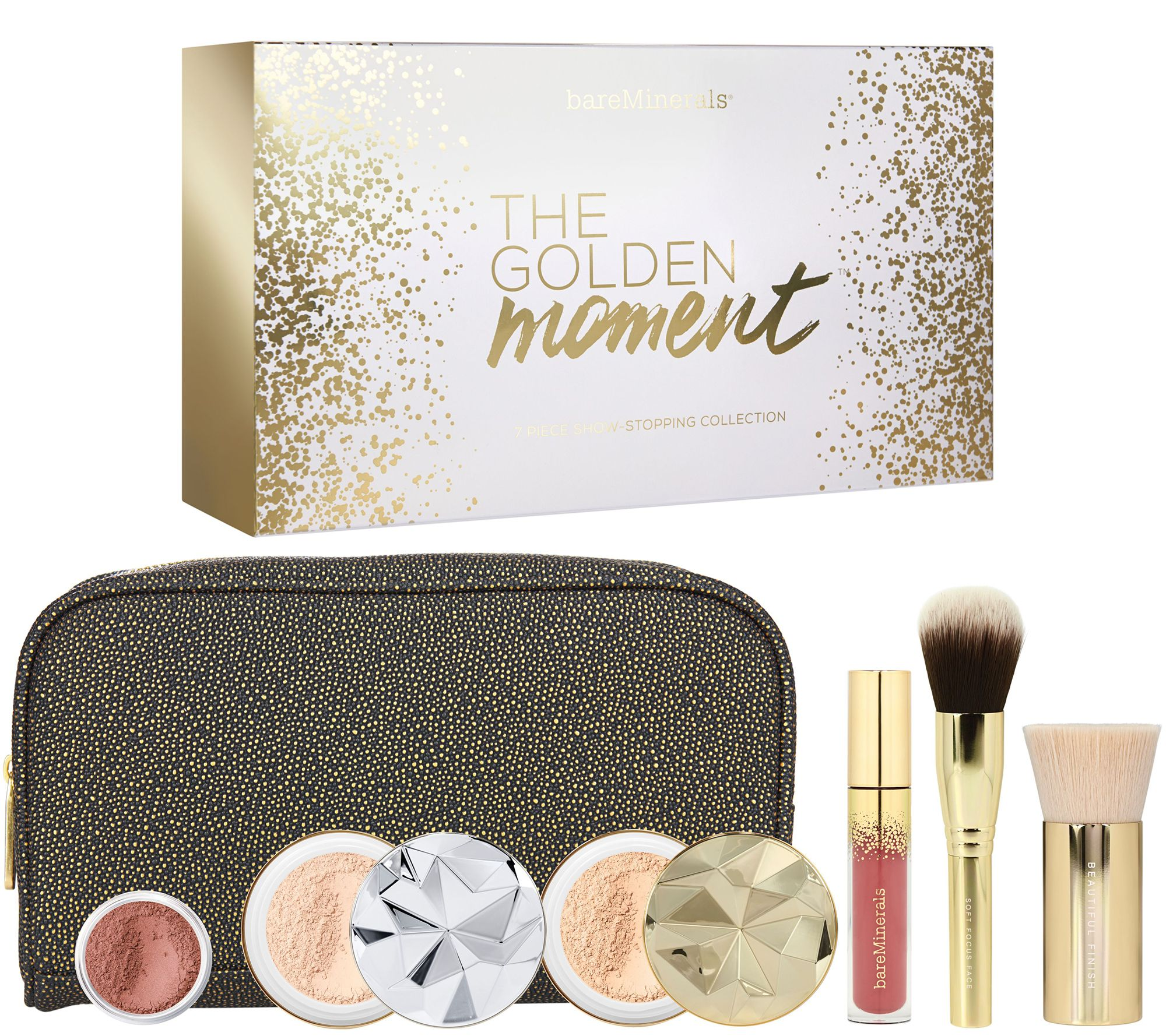 a504577c41d9 bareMinerals Golden Moment Deluxe Original Foundation 7 pc Collection -  Page 1 — QVC.com