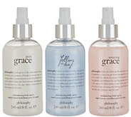philosophy shimmering body spritz trio - A298611