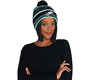 NFL Cuff Knit Hat with Pom by New Era - A302011