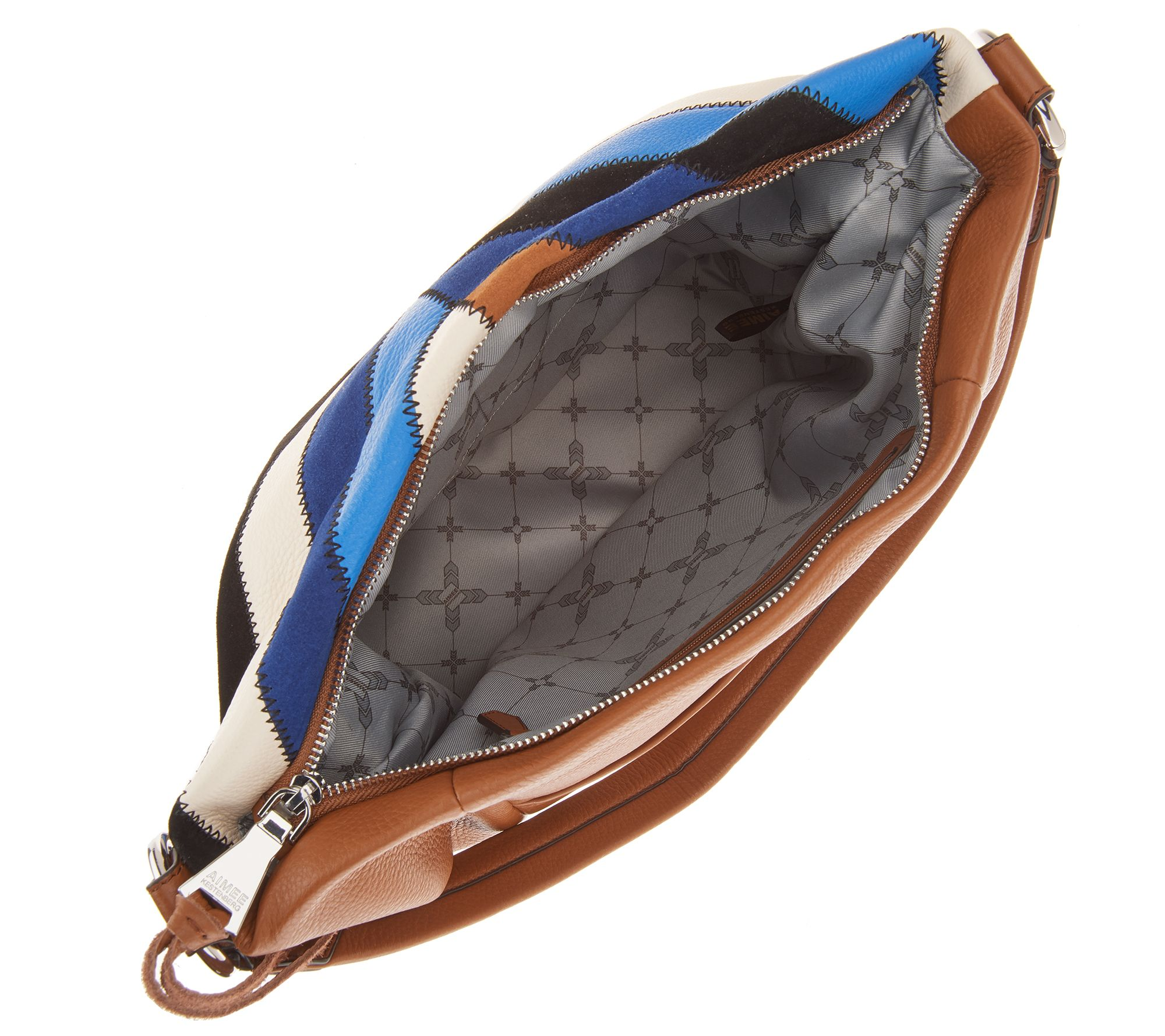4388954d868 Aimee Kestenberg Pebble Leather Hobo - Tulum - Page 1 — QVC.com