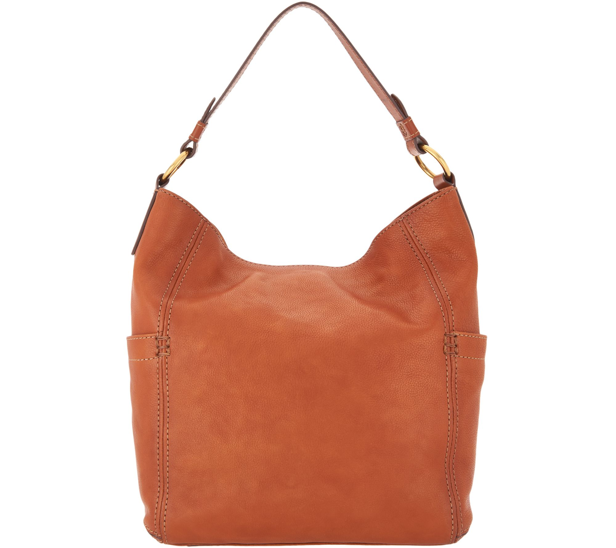 05281b9449 frye   co. Leather Hobo Bag - Adelaide - Page 1 — QVC.com