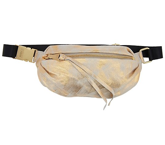 Black One Size Two Zip Waist Pack David King /& Co