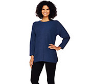 Isaac Mizrahi Live! SOHO Relaxed Pullover Sweater - A270812
