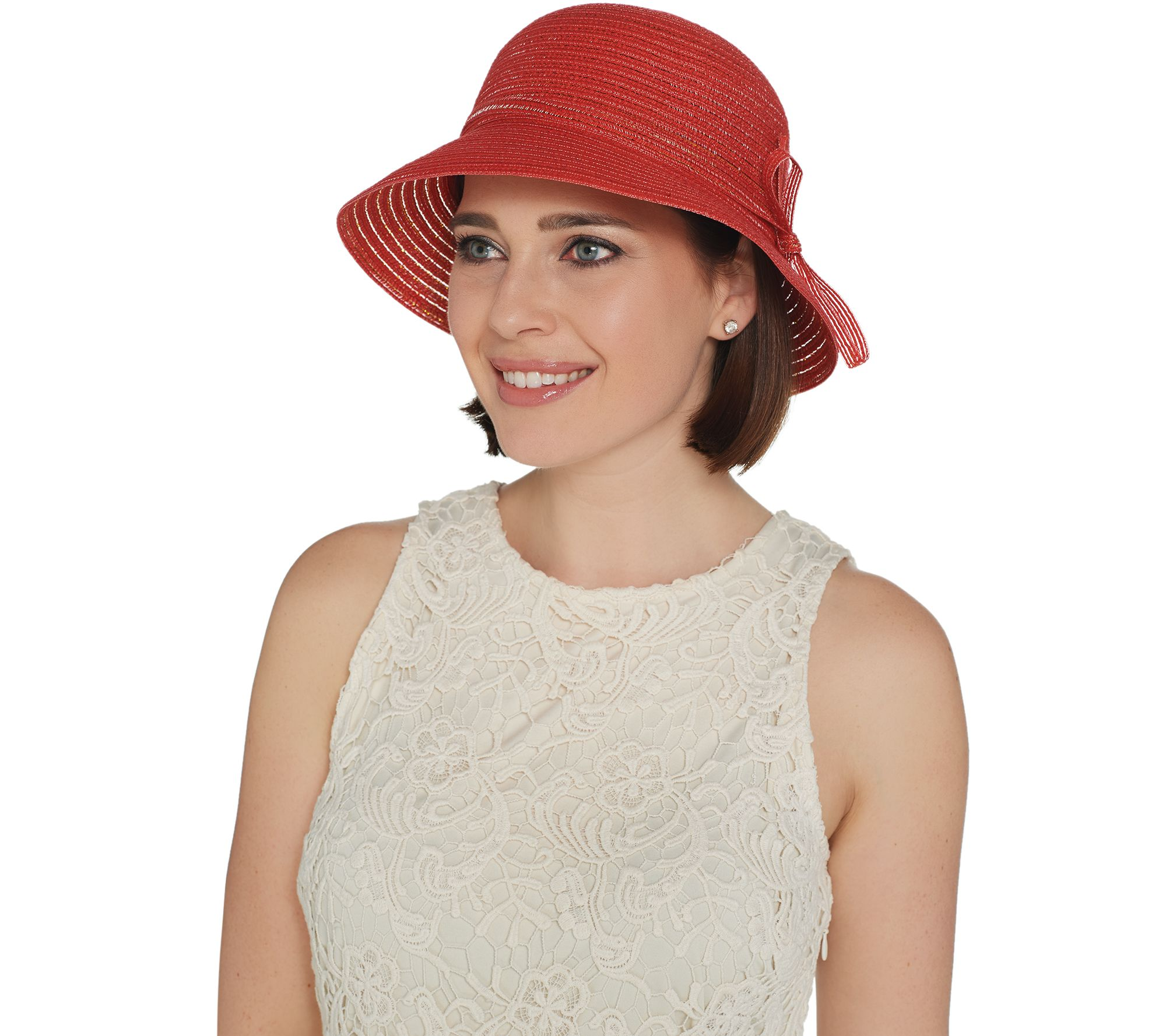 Physician Endorsed Adjustable Daisy Sunhat - Page 1 — QVC.com 06b1d1073d67