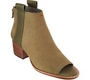 ED Ellen DeGeneres Leather Ankle Boots - Taromi - A296912