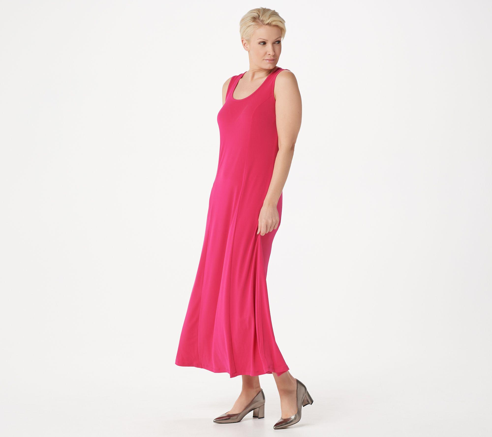 d7e21d04 Susan Graver Liquid Knit Sleeveless Maxi Dress - Page 1 — QVC.com