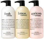 philosophy super-size luxury sweet cream lotion trio - A311112