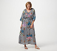 9a45081db3c Tolani Collection Regular Printed Lined Woven Maxi Dress - A347012