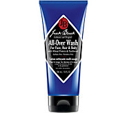 Jack Black All-Over Wash for Face, Hair & Body,10 oz - A361012