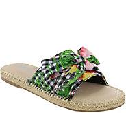 MIA Shoes Flat Slide Sandals - Brenda - A411612