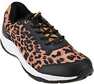 Vionic Printed Mesh Bungee Sneakers - Neptune - A271213