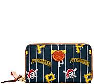 Dooney & Bourke MLB Nylon Pirates Zip Around Phone Wristlet - A281713