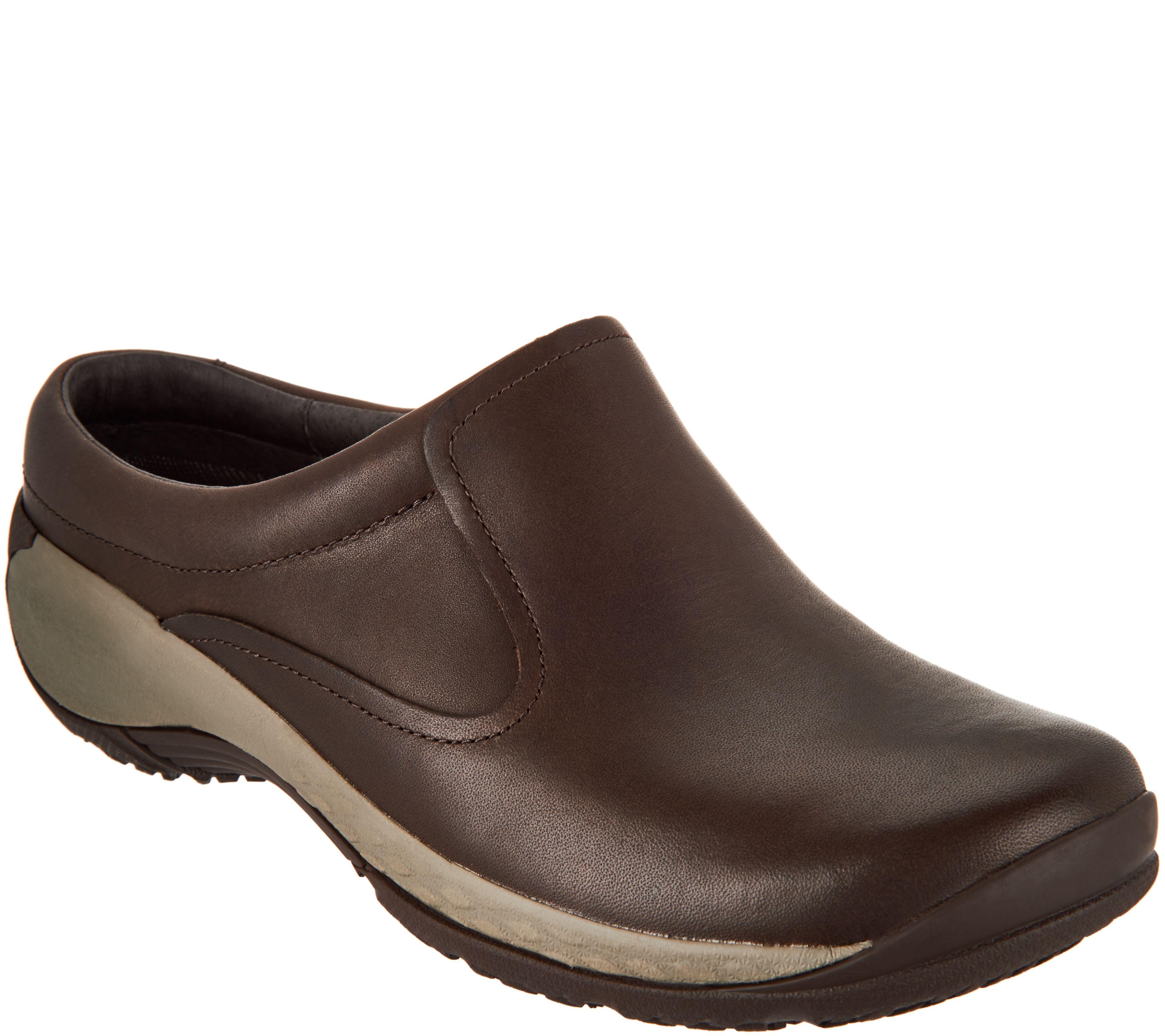 c4c934055eee Merrell Leather Slip-On Clogs - Encore Q2 - Page 1 — QVC.com