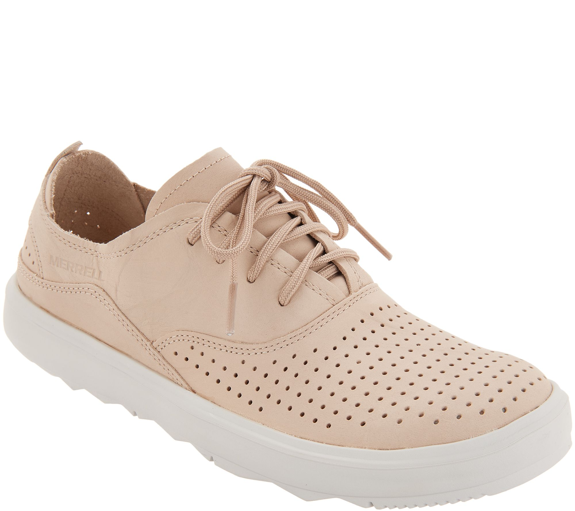 391b881544f Merrell Nubuck Lace-Up Sneakers - Around Town City Lace - Page 1 — QVC.com