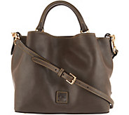 As Is Dooney & Bourke Florentine Small Brenna Satchel Handbag - A304613