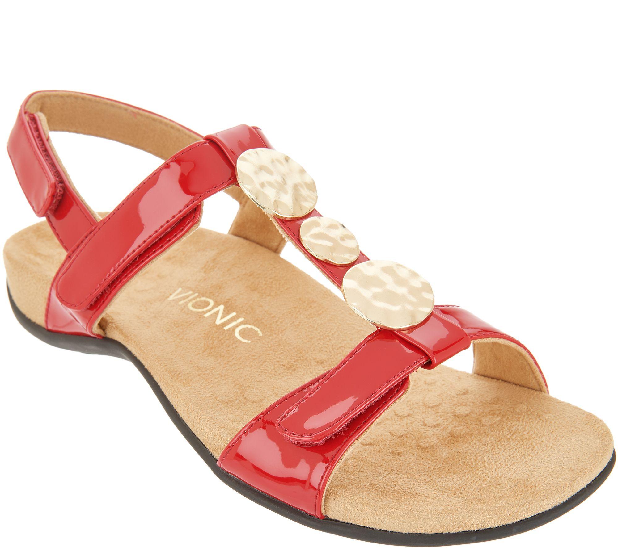 9e7db60a93 Vionic Embellished Sandals - Farra - Page 1 — QVC.com