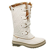 Skechers Tall Winter Boots - Highlanders - Cottontail - A335013