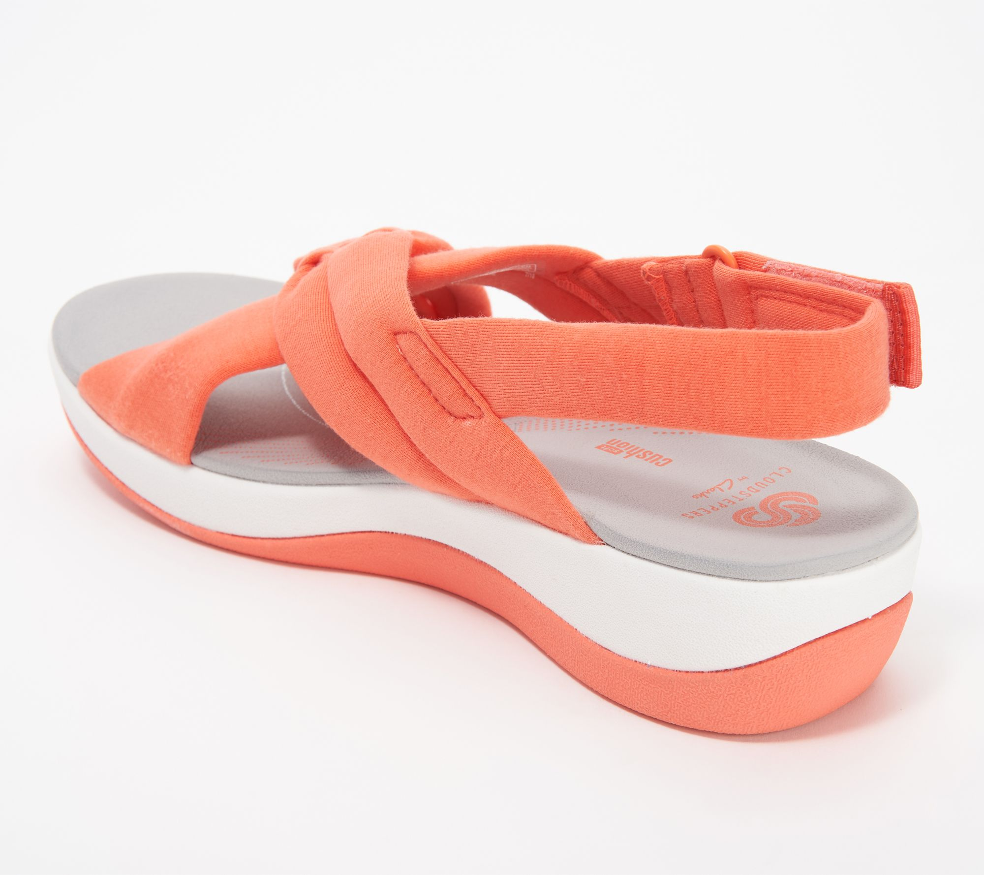 dbaa3393744 CLOUDSTEPPERS by Clarks Jersey Sport Sandals- Arla Belle - Page 1 — QVC.com