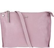 H by Halston Lizard Embossed Crossbody Handbag - A276514