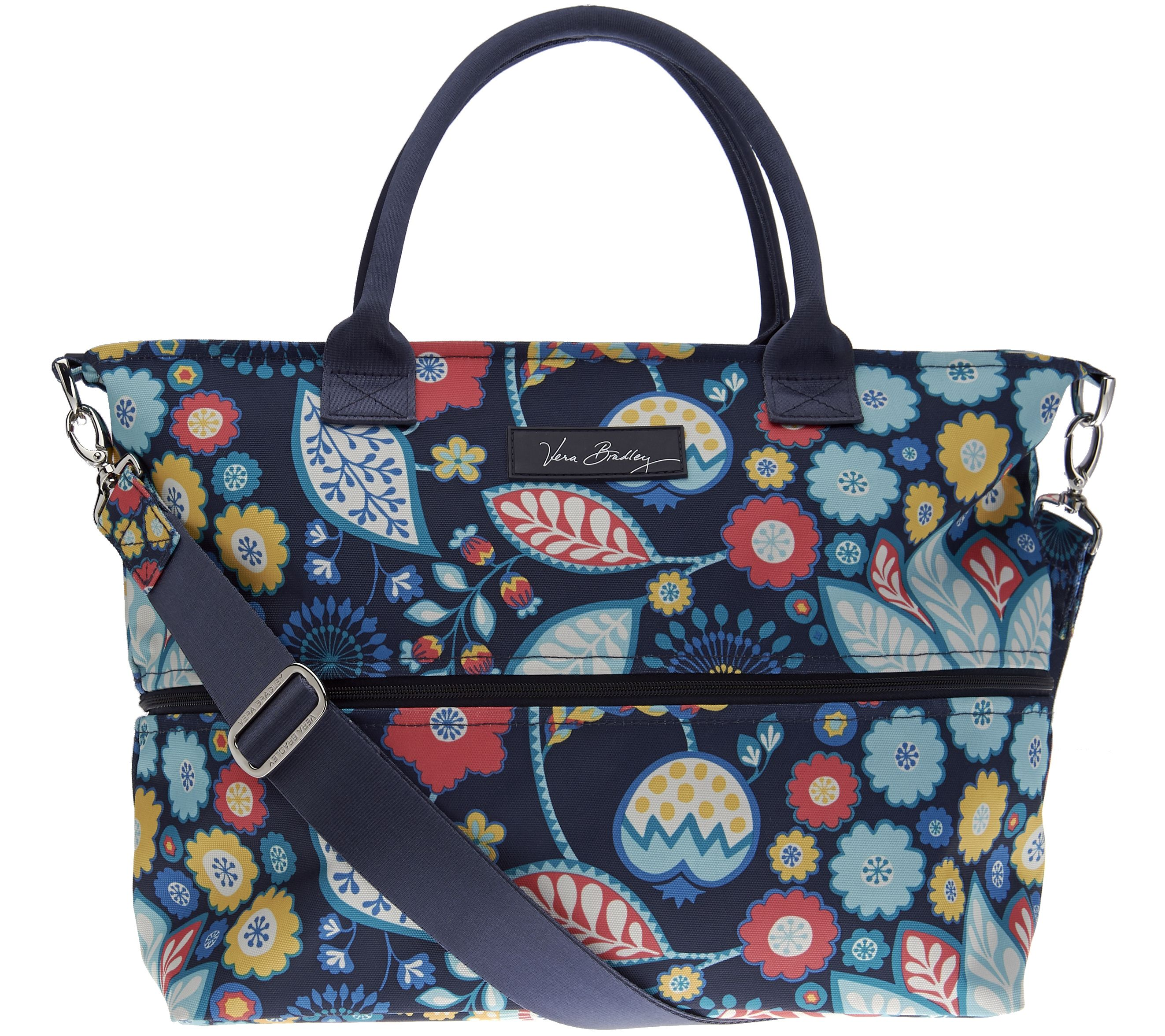 Vera Bradley Lighten Up Expandable Shopper - Page 1 — QVC.com fc1a5b272f