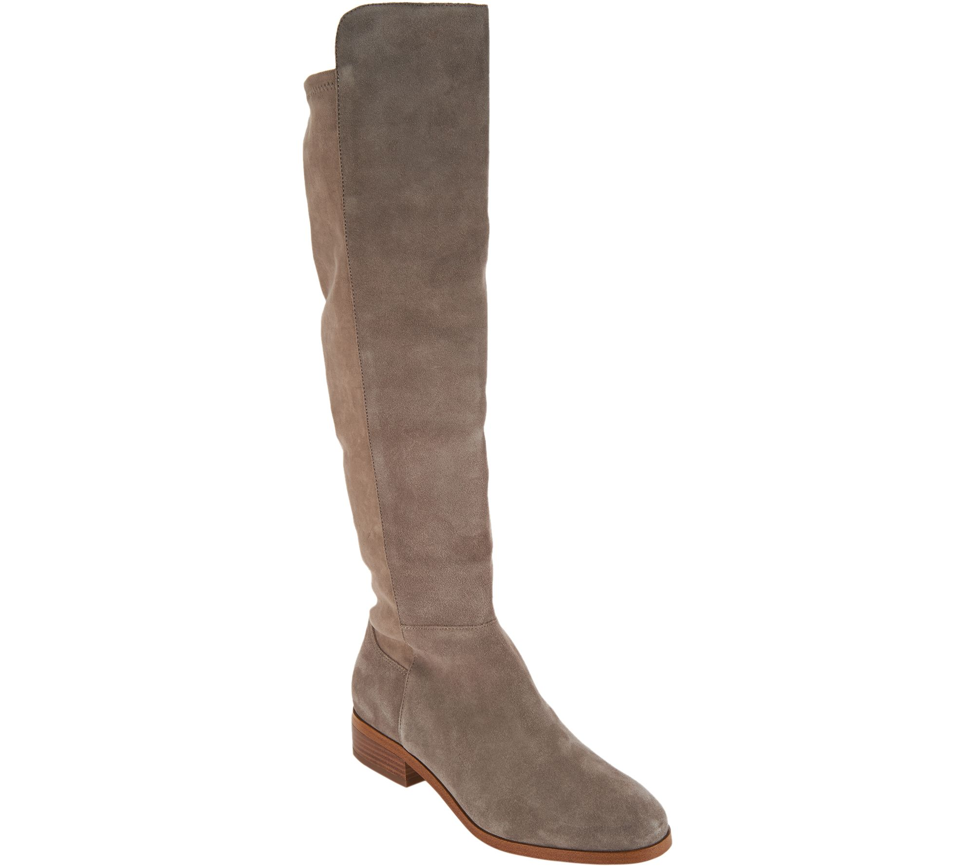 Sole Society Suede Tall Shaft Boots - Calypso buy cheap online aIjvNof