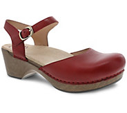 Dansko Closed Toe Leather Mary Janes - Sam - A412414