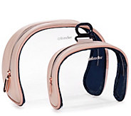Caboodles Life & Style See Me Duo S/2 Clear Cosmetic Case - A419614