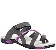 Propet Adjustable Strap Slide Walking Sandals - Eleri - A423514