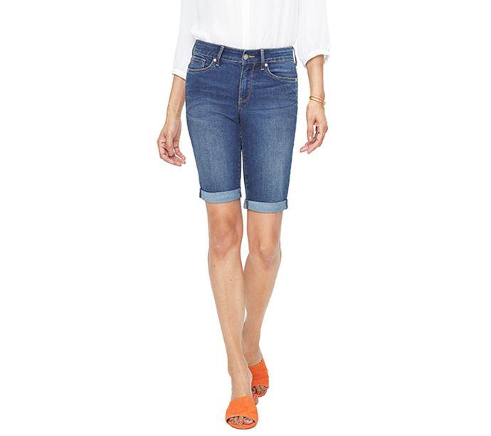 4948dc231d NYDJ Missy Briella Roll-Cuff Cool Embrace Shorts - Page 1 — QVC.com