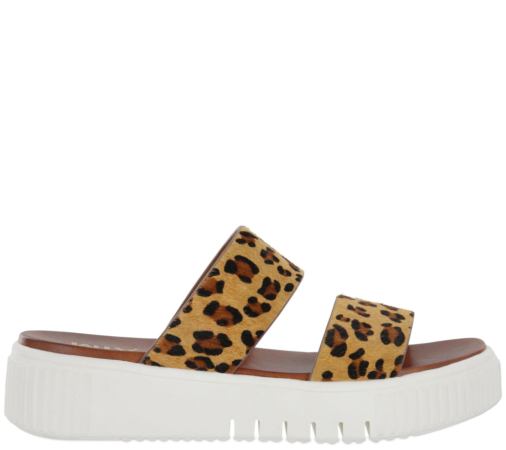 7742635c2be4 MIA Shoes Sneaker Sole Flatform Slide Sandals -Lexi - Page 1 — QVC.com