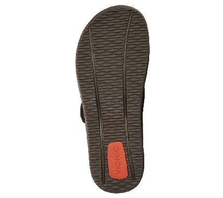 f87fc92caed7 Vionic Men s Orthotic Thong Sandals - Ryder - Page 1 — QVC.com