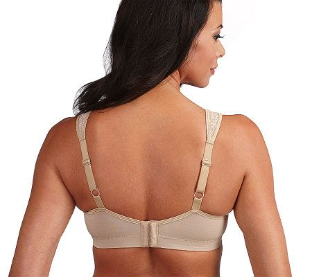 f9d44f5004 Breezies Set of 2 Wild Rose Lace Seamless Wirefree Bra - Page 1 — QVC.com