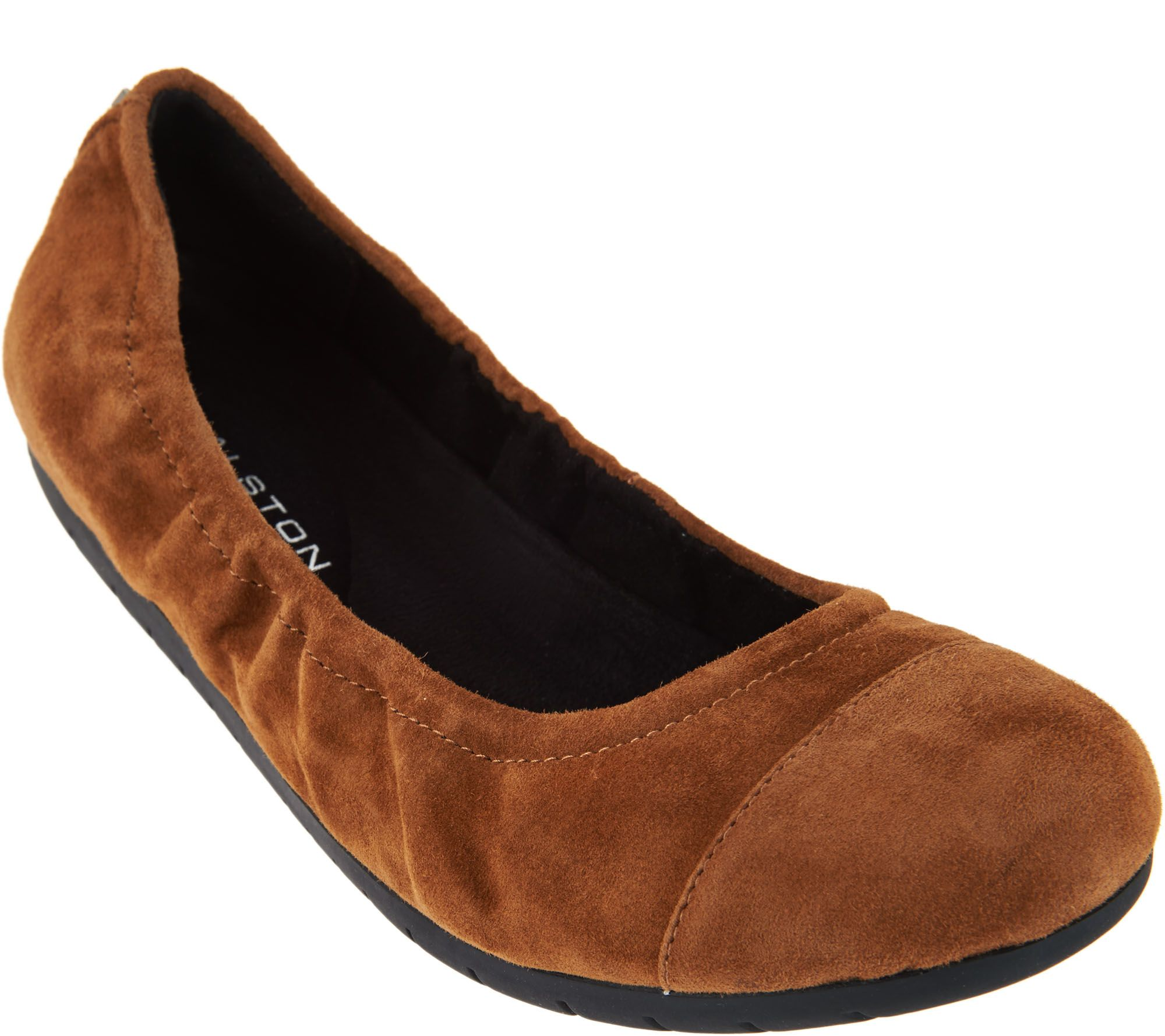 Cheap Marketable New Lower Prices H by Halston Suede Cap-Toe Flats View Sale Online 0eqMZc