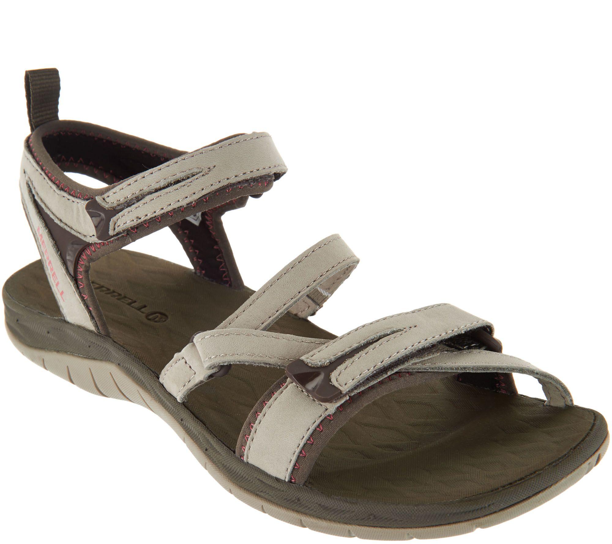 40e3e1a46ca5 Merrell Multi-Strap Sport Sandals - Siren Strap Q2 - Page 1 — QVC.com