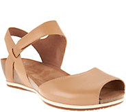 Dansko Leather Peep-toe Sandals - Vera - A289115