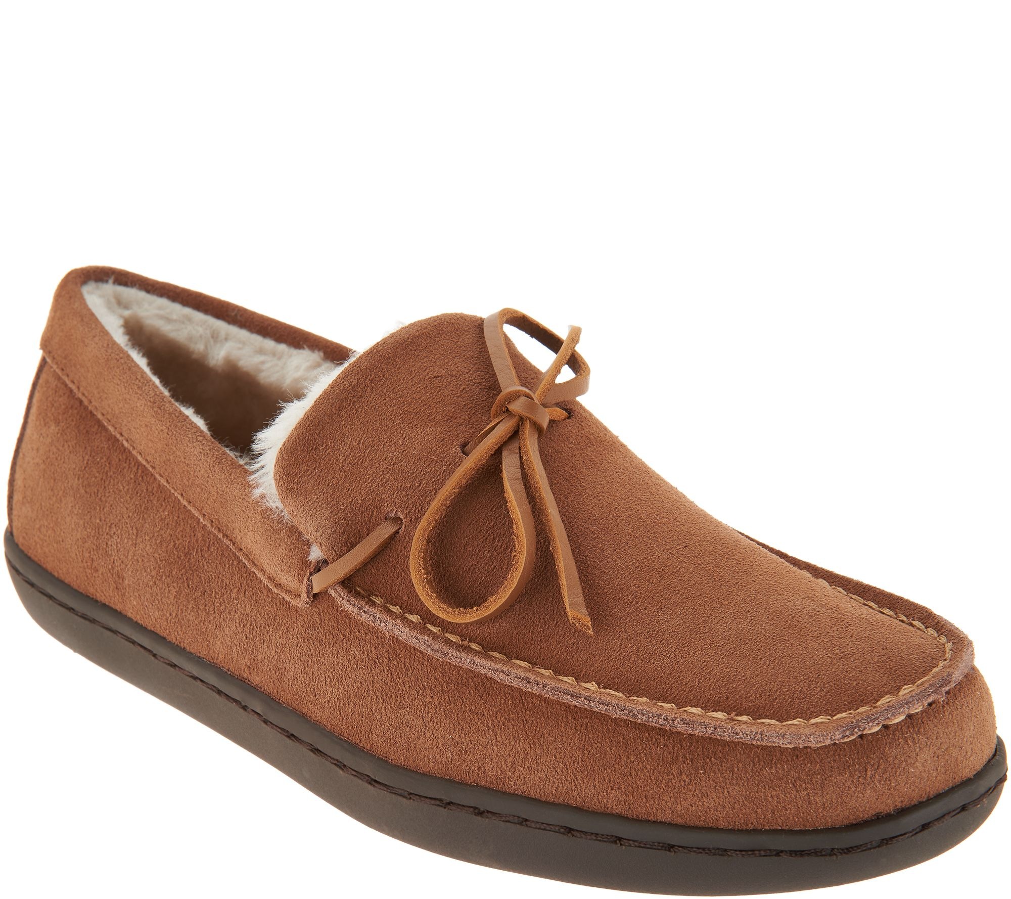 outlet purchase the cheapest Vionic Orthotic Men's Suede Slippers - Adler clearance Inexpensive official site cheap price free shipping cheap PK5cge