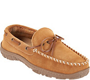 Clarks Suede Mens Moccasin Slippers - A301215