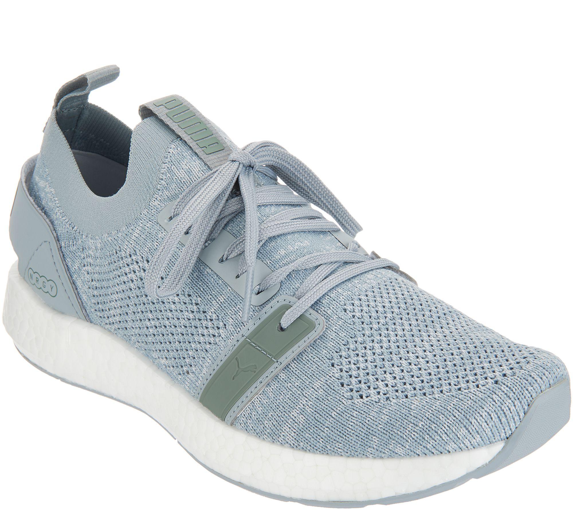 PUMA Knit Lace-Up Sneakers - NRGY Neko Engineer Knit - Page 1 — QVC.com 0cee17a02
