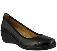 Spring Step Slip-on Patent Leather Shoes - Kartii - A341415