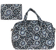 Vera Bradley Signature 100 Handbag with RFID Riley Compact Wallet - A342315