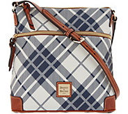 Dooney & Bourke Coated Cotton Plaid Crossbody - A342815