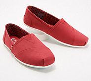 Skechers BOBs Canvas Slip-On Shoes - Plush Peace & Love - A349715