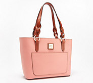 Dooney & Bourke Pebble Leather Small Tammy Tote - A351915